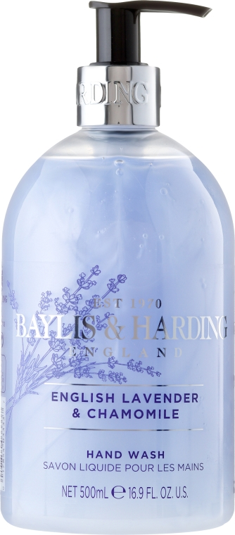 Mydło w płynie do rąk Lawenda i rumianek - Baylis & Harding English Lavender & Chamomile Luxury Hand Wash — фото N1