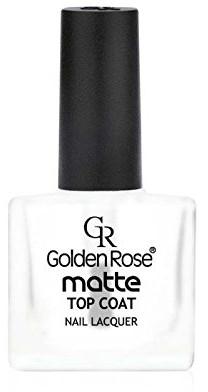 Matowy top coat do paznokci - Golden Rose Matte Top Coat