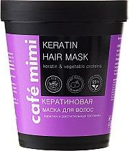 Kup Keratynowa maska do włosów - Café Mimi Keratin Hair Mask