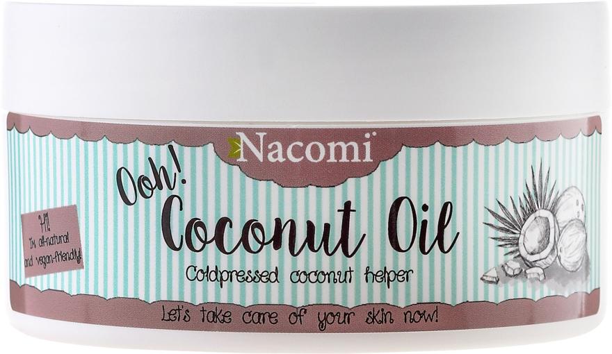 100% naturalny nierafinowany olej kokosowy - Nacomi Coconut Oil 100% Natural Unrefined