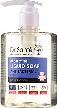 Kup Antybakteryjne mydło do rąk Drzewo herbaciane i lawenda - Dr. Sante Antibacterial Liquid Soap Double Action