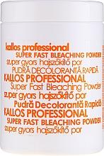 Kup Proszek do wybielania włosów - Kallos Cosmetics Super Fast Bleaching Powder