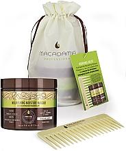 Kup Zestaw obcinaczy do paznokci - Macadamia Professional No Tangle Styler Brush Green (mask/200ml + brush)