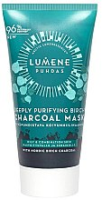 Kup Głęboko oczyszczająca maseczka brzozowa do twarzy z węglem - Lumene Puhdas Deeply Purifying Birch Charcoal Mask