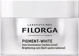 Kup Rozświetlający krem rozjaśniający ciemne plamy skórne - Filorga Pigment White Brightening Care