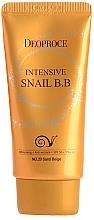 Kup Krem BB z mucyną ślimaka SPF 50 - Deoproce Intensive Snail BB