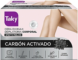 Kup Wosk do ciała z węglem aktywnym - Taky Activated Carbon Body Depilatory Wax