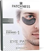 Kup Kolagenowe płatki pod oczy dla mężczyzn - Patchness Eye Patch Black