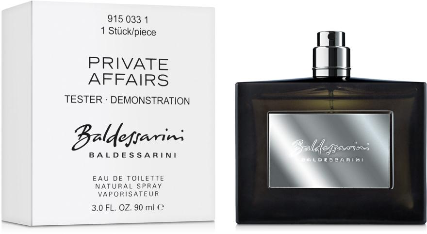 Baldessarini Private Affairs - Woda toaletowa (tester bez nakrętki) — фото N2