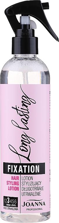 Lotion stylizujący długotrwałe utrwalenie - Joanna Professional Long Lasting Fixation Hair Styling Lotion