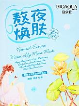 Kup Nawilżająca maska z ekstraktem z żółtej lilii wodnej - BioAqua Natural Extract Water Lily Moist Mask