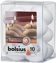 Kup Zestaw ozdobnych świec w kolorze białym - Bolsius