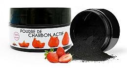 Kup Wybielający proszek z węglem do zębów Truskawka - Keeth Strawberry-flavoured Activated Charcoal Bleaching Powder