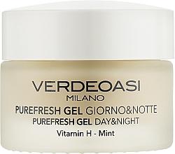 Kup Oczyszczająco-nawilżający żel do twarzy na dzień i na noc dla mężczyzn - Verdeoasi Purefresh Gel Day&Night