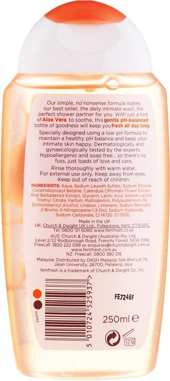 Odświeżający żel do higieny intymnej - Femfresh Intimate Hygiene Daily Intimate Wash — фото N2