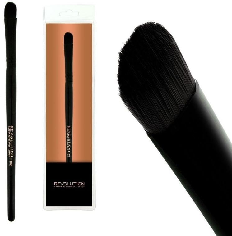 Pędzel do korektora, F102 - Makeup Revolution Concealer Brush