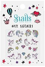 Kup Naklejki na paznokcie - Snails Nail Stickers