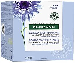 Kup Wygładzająco-kojące płatki pod oczy - Klorane Smoothing & Soothing Eye Patches 7x2