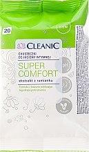 Kup Chusteczki do higieny intymnej, 20 szt. - Cleanic Super Comfort Wipes