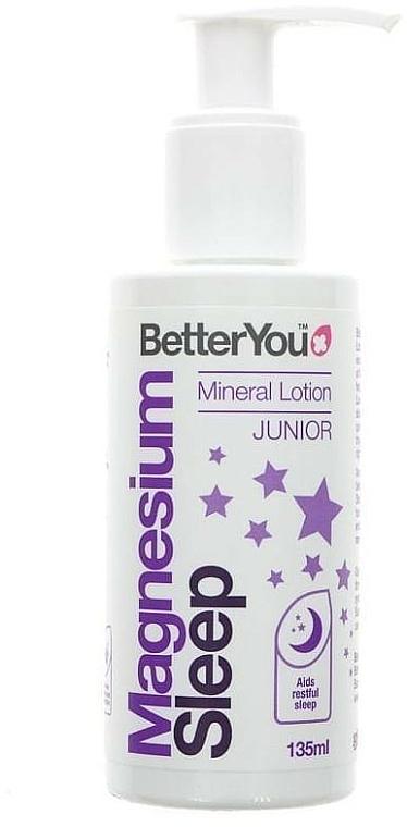 Balsam do ciała z magnezem - BetterYou Magnesium Sleep Mineral Lotion Junior — фото N1