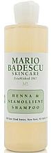Kup Szampon do każdego rodzaju włosów - Mario Badescu Henna & Seamollient Shampoo