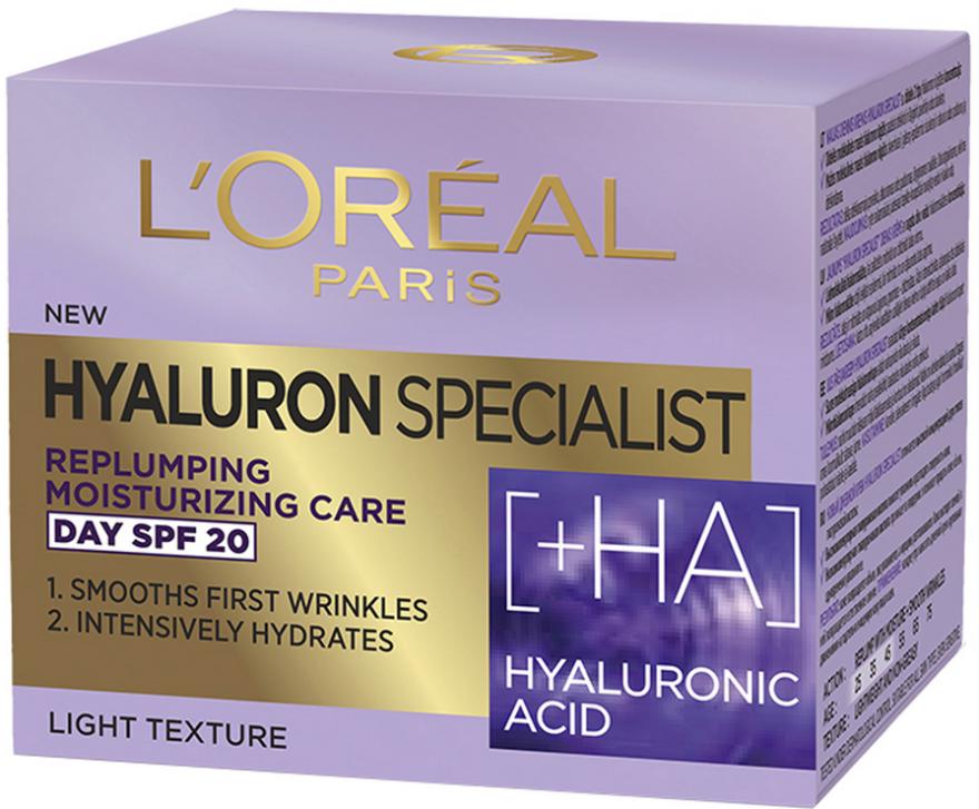 Nawilżający krem do twarzy SPF 20 - L'Oreal Paris Skin Expert