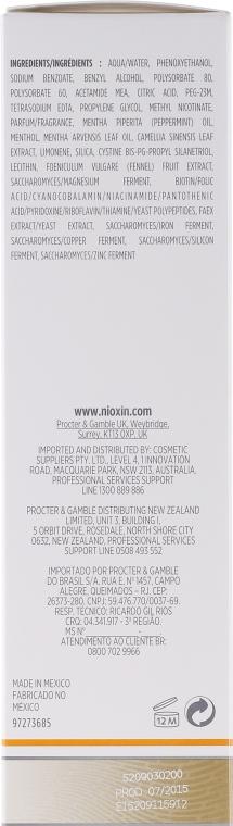 Odżywcza kuracja do włosów - Nioxin Thinning Hair System 3 Scalp Treatment — фото N3