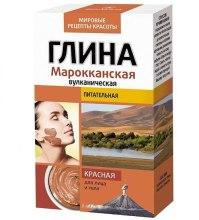 Kup Marokańska wulkaniczna odżywcza glinka czerwona do twarzy i ciała - FitoKosmetik