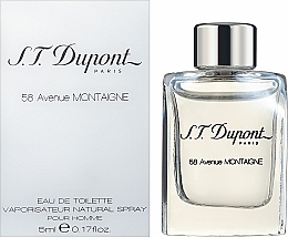 Kup S.T. Dupont 58 Avenue Montaigne - Woda toaletowa (mini)