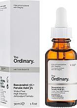 Kup Serum do twarzy z resweratrolem 3% kwasem ferulowym 3% - The Ordinary Resveratrol 3% + Ferulic Acid 3%
