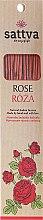 Kup Naturalne indyjskie kadzidła Róża - Sattva Rose