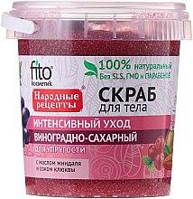 Kup Winogronowy ujędrniający peeling cukrowy do ciała - FitoKosmetik