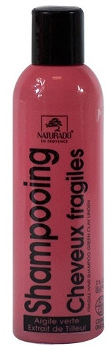 Szampon do włosów przetłuszczających się - Naturado Shampoo Cosmos Organic — фото N1