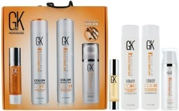 Kup Zestaw do pielęgnacji włosów - GKhair Kit (shmp/300ml + cond/300ml + oil/50ml + cr/130ml)