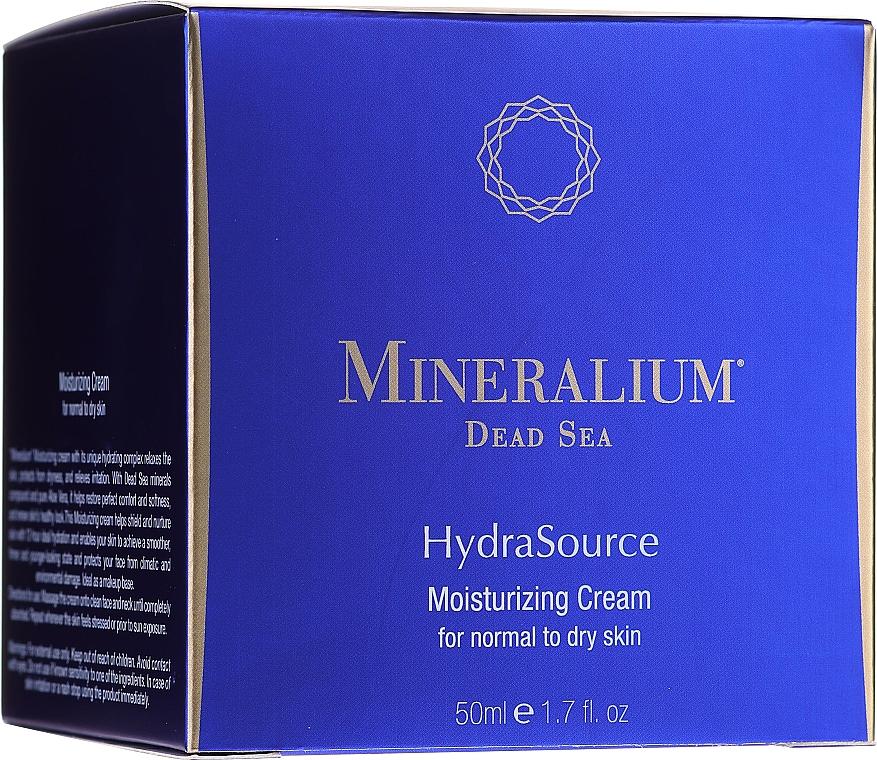 Nawilżający krem do cery normalnej i suchej - Mineralium Dead Sea HydraSource Moisturizing Cream For Normal To Dry Skin — фото N1