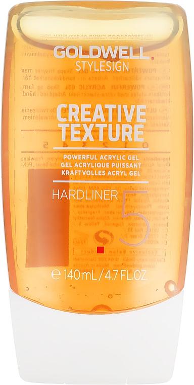 Hardliner ultra mocny, akrylowy żel do stylizacji - Goldwell StyleSign Texture Hardliner Acrylic Gel