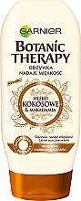 Kup Odżywka nadająca miękkość włosom suchym i pozbawionym sprężystości Mleko kokosowe i makadamia - Garnier Botanic Therapy Coconut Milk & Makadamia Conditioner