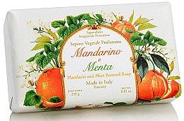 Kup Naturalne mydło w kostce Mandarynka i mięta - Saponificio Artigianale Fiorentino Tangerine & Mint Soap