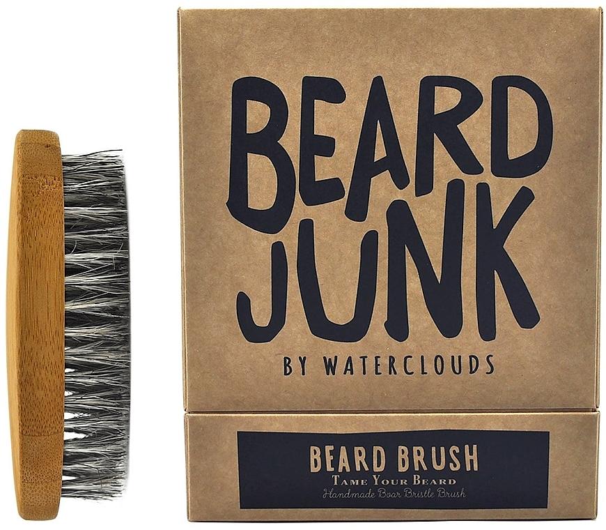 Szczotka do brody - Waterclouds Beard Junk Beard Boar Bristle Brush — фото N1