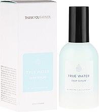 Kup Głęboko nawilżające serum przeciwzmarszczkowe do twarzy - Thank You Farmer True Water Deep Serum