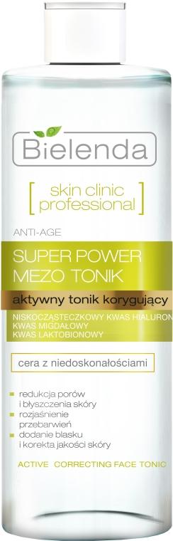 Aktywny tonik korygujący do cery z niedoskonałościami - Bielenda Skin Clinic Professional Mezo