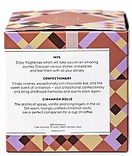 Sojowa świeca Cynamonowe bułki - Mys Cinnamon Rolls Candle — фото N4