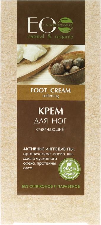 Zmiękczający krem do stóp - ECO Laboratorie Foot Cream