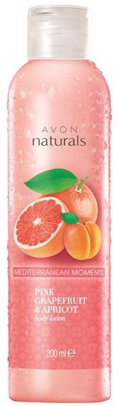 Balsam do ciała Grejpfrut i morela - Avon Naturals Pink Grapefruit & Apricot Body Lotion — фото N1