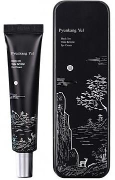 Nawilżająco -wygładzający krem do skóry wokół oczu - Pyunkang Yul Black Tea Time Reverse Eye Cream — фото N1