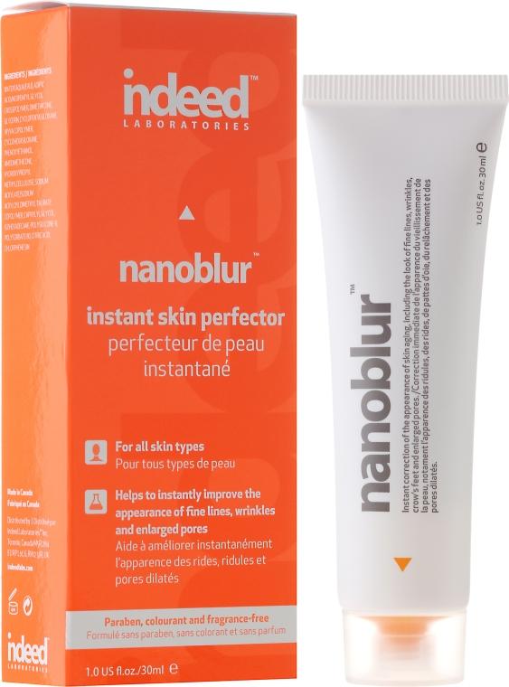 Krem do twarzy zapewniający efekt nieskazitelnej skóry - Indeed Laboratories Nanoblur Instant Skin Perfector Blurring Cream