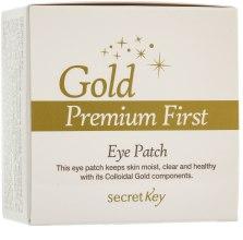 Kup Maska do konturu oka - Secret Key Gold Premium First Eye Patch