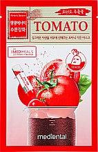 Kup Celulozowa maska do twarzy w płachcie Pomidor - Mediental Botanic Garden Tomato Sheet Mask