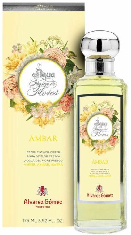 Alvarez Gomez Agua Fresca de Flores Ambar - Woda toaletowa — фото N1