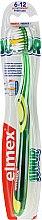 Kup Miękka szczoteczka do zębów dla dzieci 6-12 lat, zielona - Elmex Junior Toothbrush